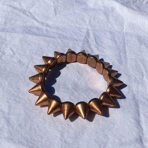 Copper Spike Bracelet